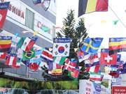 河内市各地充满浓厚的世界杯氛围(组图)