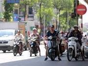 高温天气严重影响到河内市居民日常生活(组图)