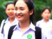 2018年越南国家高中毕业和大学入学统一考试第一天结束结束(组图)