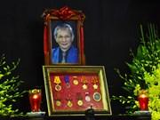 越南史学家潘辉黎教授丧礼今日隆重举行