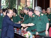 越南政府总理阮春福出席2018年上半年全军军政会议(组图)