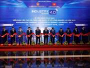 越南政府总理阮春福出席2018年智能工业国际展会(组图)