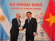 阿根廷外交和宗教事务部长对越南进行正式访问(组图)