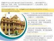 图表新闻:第30次外交会议重点讨论 四大议题