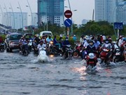 胡志明市加强城市内涝灾害风险管理工作