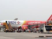 越捷航空公司推出40万张起价0越盾的机票