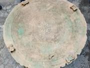 越南奠边省发现一面古老铜鼓