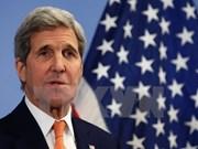 美国国务卿克里对柬埔寨进行访问