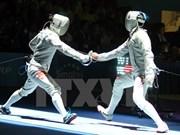 越南击剑手武成安赴波兰参加奥运参赛资格积分赛