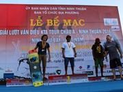 2016年风筝帆板亚洲巡回赛落下帷幕 越南运动员获一金
