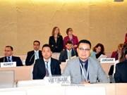 越南同世界各国合作努力减少气候变化对人权的影响