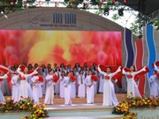 胡志明市长衣文化节精彩开幕