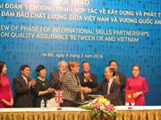 英国协助越南建立与发展职业培训的质量保证系统