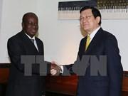 越南国家主席会见坦桑尼亚国民议会议长