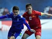 2016年东南亚五人制足球锦标赛:越南队与泰国队同组