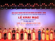 第九次胡志明市图书节开幕推介30万本书和印数量3000万册