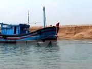两名越南渔民密克罗尼西亚安全回国