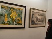 木板与刻画展在河内举行