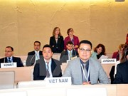 越南为联合国人权理事会第31次会议作出积极贡献