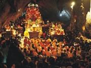数万名游客参加香寺观世音菩萨圣诞法会