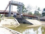 越南后江省全力做好旱灾和海水入侵防控工作