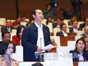第十三届国会十一次会议:代表们高度评价国家主席和政府总理及司法机构的工作结果
