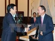 国家主席张晋创希望三星集团协助促进越南配套工业发展