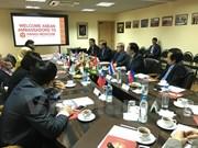 东盟团结一致促进与俄罗斯关系发展