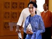 缅甸下院5日通过设置国家顾问法案