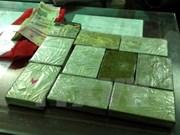 奠边省缉毒力量在越老边境查破一起贩毒案