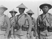 世界大战在图卢兹的印度支那劳役图片展亮相法国