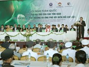 越南祖国阵线中央委员会主席阮善仁:环保工作必须依靠群众