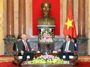 越南国家主席陈大光会见俄罗斯、日本驻越大使