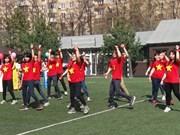 2016年夏天莫斯科越南大学生运动会正式开幕