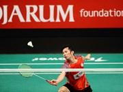 越南羽毛球运动员阮进明参加2016年亚洲羽毛球锦标赛
