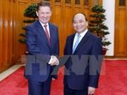 阮春福总理会见俄罗斯天然气工业股份公司总裁米勒