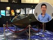 越南首艘空间飞船成功发射