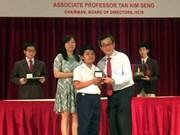 越南学生在亚太地区数学奥林匹克竞赛获得6枚金牌