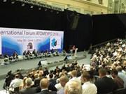 越南代表团出席第八届俄核工业展览国际论坛