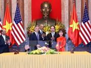 越美保持密切合作促进双边贸易额增长