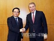 加强越俄两国的全面战略伙伴关系