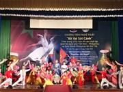 庆祝越菲建交40周年的艺术表演活动在芹苴市举行