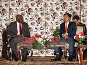 越南胡志明市领导会见古巴共产党高级代表团
