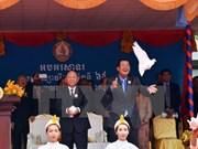柬埔寨人民党成立65周年庆典在金边隆重举行