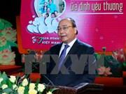 阮春福总理:国家的发展离不开和谐幸福的家庭