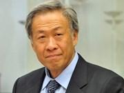 新加坡防长:东盟有足够依据参加解决东海问题