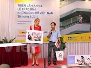 《越南父亲》摄影比赛获奖作品精彩亮相