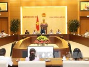 越南国会主席阮氏金银会见广宁省国会代表团
