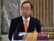 联合国秘书长潘基文呼吁东海争端有关各方遵守国际法