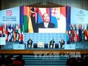越南政府总理阮春福出席第15届亚欧工商论坛